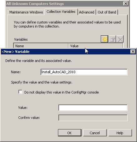 Choose to install specific software during OSD Task Sequence