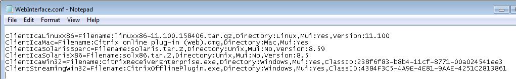 Client Deployment WebInterface 5 4 0 / XenApp 6 5 - 0 Mbps