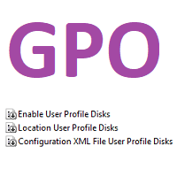 Microsoft User Profile Disks Policy Template - 0 Mbps